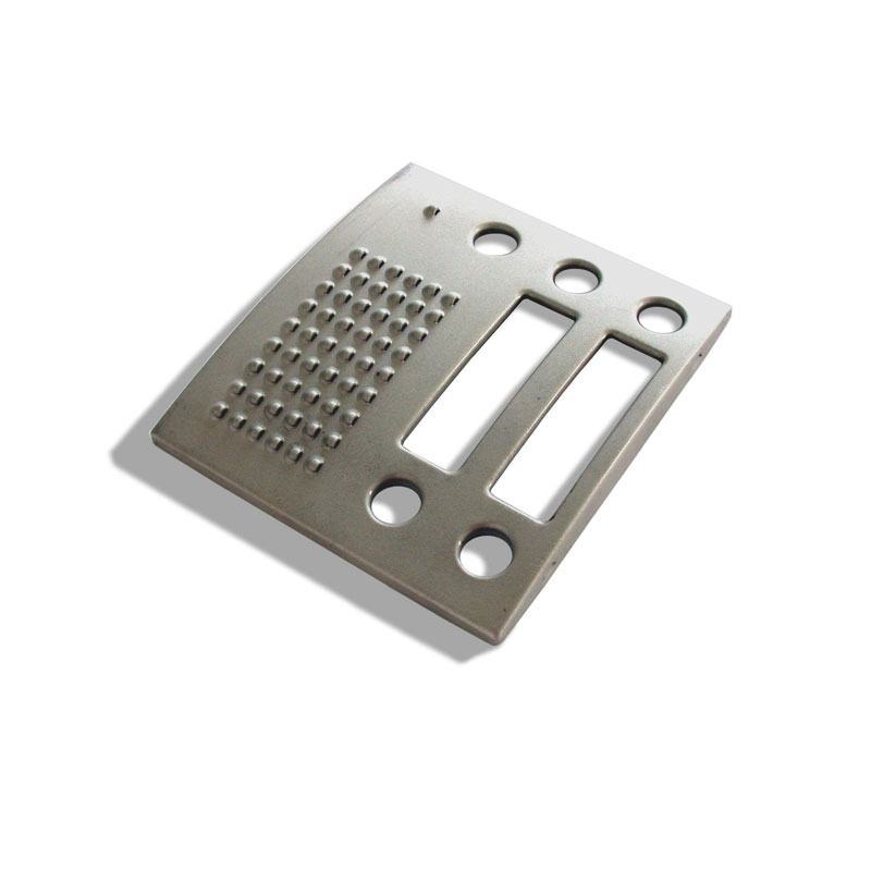 Face-plate-for-modular-door-intercom-systems